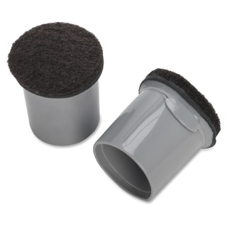 Lorell Replacement Chair Tips with Felt - (16 Per Bag)