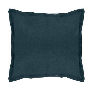 Grand Luxe 100 Linen Gotham 18-inch Throw Pillow