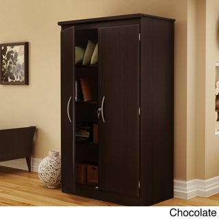 South Shore Furniture Morgan Wood/Laminate Storage Cabinet