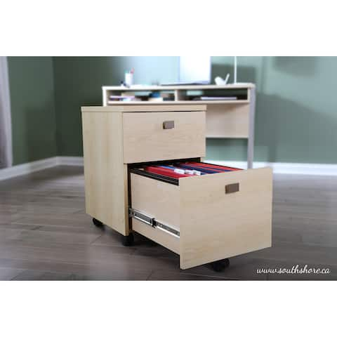 South Shore Interface 2-Drawer Mobile File Cabinet