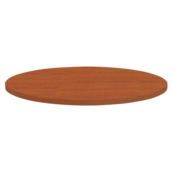 Shop Lorell Invent 36 Inch Cherry Round Tabletop Free Shipping