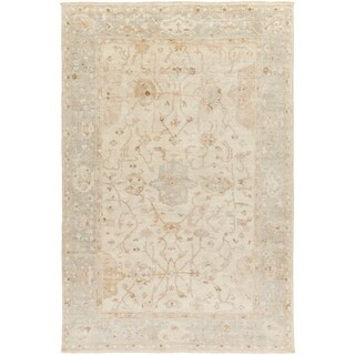 Hand Knotted Wigan Wool Rug (4' x 6')