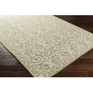 Hand Hooked Ave Polyester Rug (4' x 6')