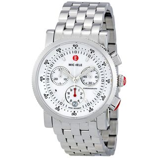Michele Women's MWW01C000021 'Sport Sail' Chronograph Stainless Steel Watch