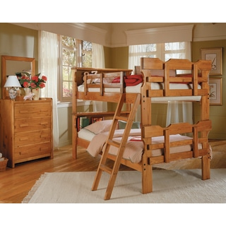 Heartland Bookcase Scalloped Bunk Beds