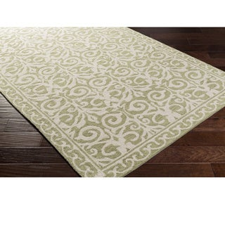 Hand Hooked Ave Polyester Rug (5' x 7'6)