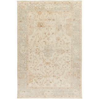 Hand Knotted Wigan Wool Rug (6' x 9')