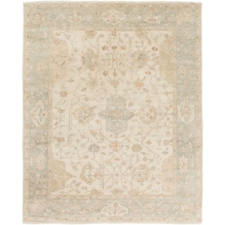 Hand Knotted Wigan Wool Rug (8' x 10')