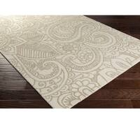 Hand Hooked Williamson Viscose/Wool Area Rug - 8' x 10'