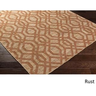 Hand Woven Yarmouth Jute/Viscose Rug (8' x 11')
