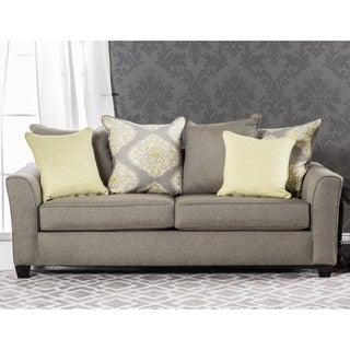 Furniture of America Shaylie Contemporary Grey Fabric Sofa