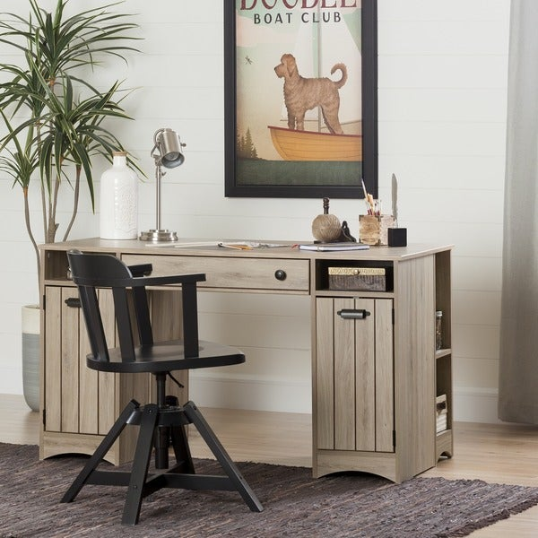 South Shore Artwork Craft And Sewing Machine Table With Storage   Free  Shipping Today   Overstock.com   18104314
