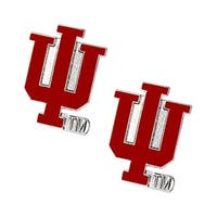 NCAA Indiana Hoosiers Post Stud Earring Charm Set