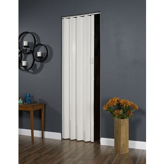 Oakmont White 36x96 Folding Door