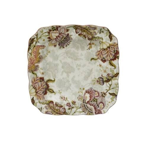 222 Fifth Gabrielle Floral Cream 16-piece Dinnerware Set