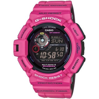 Casio GW9300SR-4 G-Shock Master of G Digital Mudman Sunrise Purple Watch
