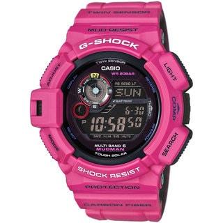 Casio GW9300SR-4 G-Shock Master of G Digital Mudman Sunrise Purple Watch