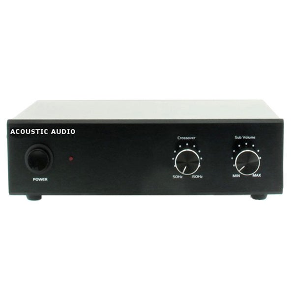 acoustic audio ws1005 passive subwoofer amp 200 watt amplifier for home theater free shipping. Black Bedroom Furniture Sets. Home Design Ideas