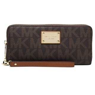 Michael Kors Jet Set Travel Signature Continental Wallet