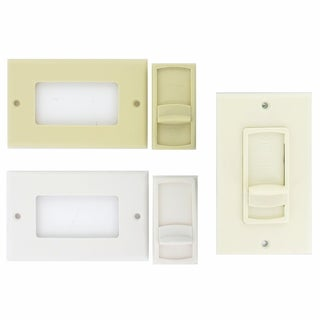 Theater Solutions TSVCS White Wall-mount Impedance Matching Speaker Slide Volume Control Switch