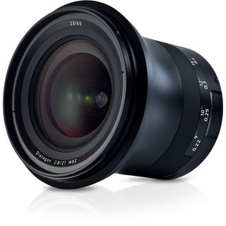 Zeiss Milvus 21mm f/2.8 ZE Lens for Canon EF