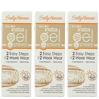 Sally Hansen Salon Insta Gel Strips Walk the Catwalk (Pack of 3)