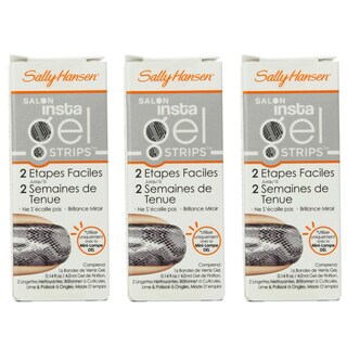 Sally Hansen Salon Insta Gel Strips Perfect Poison (Pack of 3)