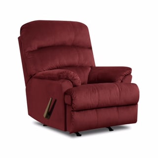Simmons Upholstery H&ton Rocker Recliner  sc 1 st  Overstock.com & Red Recliner Chairs u0026 Rocking Recliners - Shop The Best Deals for ... islam-shia.org