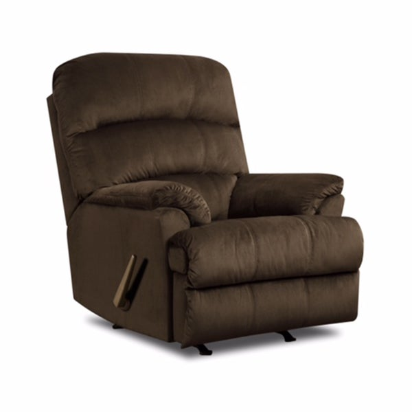 Shop Simmons Upholstery Hampton Rocker Recliner Free