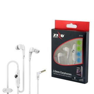 INSTEN 3.5mm JV19 Stereo Hands-free Headphone Earbuds with Microphone