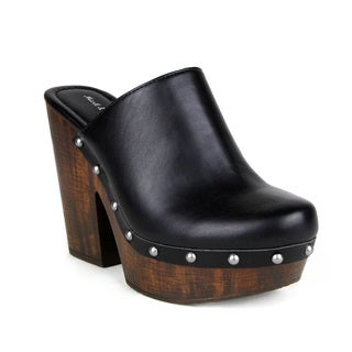 Mark and Maddux Antonio-06 Platform Women's Clogs