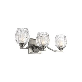 Feiss Kalli 3 - Light Vanity, Satin Nickel