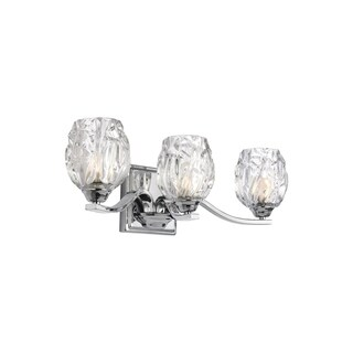 Feiss Kalli 3 - Light Vanity, Chrome