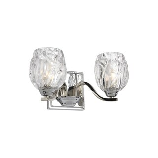 Feiss Kalli 2 - Light Vanity, Chrome