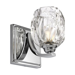 Feiss Kalli 1 - Light Wall Sconce, Chrome