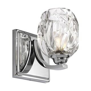 Feiss Kalli 1 - Light Wall Sconce, Chrome