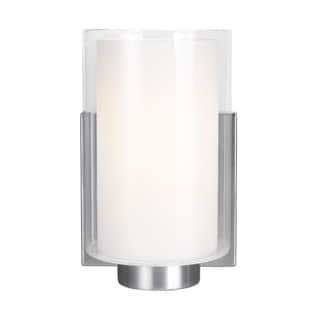 Feiss Bergin 1-light Satin Nickel Wall Sconce