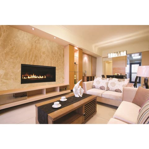42-inch Linear Superior Direct Vent Fireplace