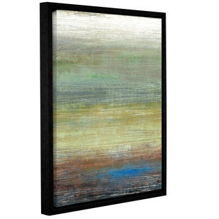 ArtWall Norman Wyatt JR's Desert Oasis, Gallery Wrapped Floater-framed Canvas