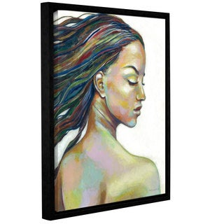 ArtWall Norman Wyatt JR's Color Blind, Gallery Wrapped Floater-framed Canvas