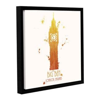 ArtWall Anna Quach's Big Ben, Gallery Wrapped Floater-framed Canvas