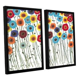 ArtWall Norman Wyatt JR's Simply Gorgeous, 2 Piece Floater Framed Canvas Set