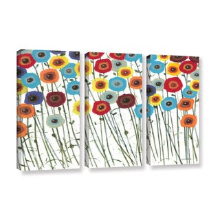 ArtWall Norman Wyatt JR's Simply Gorgeous, 3 Piece Gallery Wrapped Canvas Set