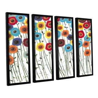 ArtWall Norman Wyatt JR's Simply Gorgeous, 4 Piece Floater Framed Canvas Set