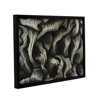 ArtWall John Sabraw's Clover, Gallery Wrapped Floater-framed Canvas