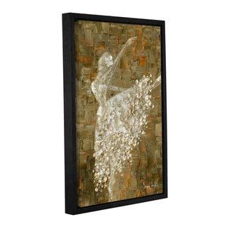 ArtWall Susanna Shaposhnikova's Ballerina, Gallery Wrapped Floater-framed Canvas