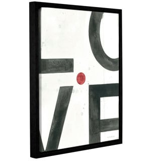 ArtWall Norman Wyatt JR's Is This Love?, Gallery Wrapped Floater-framed Canvas