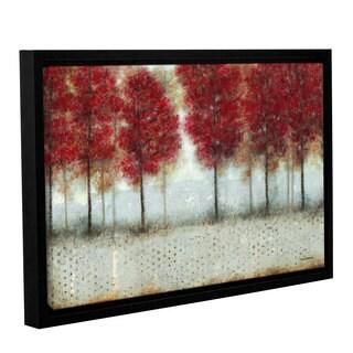 ArtWall Norman Wyatt JR's Autumn Blaze, Gallery Wrapped Floater-framed Canvas