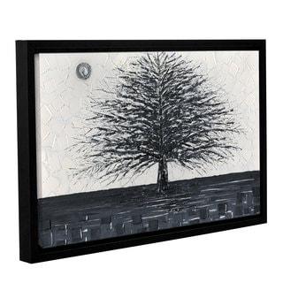 ArtWall Susanna Shaposhnikova's Black And White Tree, Gallery Wrapped Floater-framed Canvas