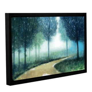 ArtWall Norman Wyatt JR's Early Morning Mist, Gallery Wrapped Floater-framed Canvas